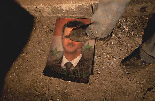 بشار اسد می رود...