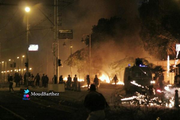 تظاهرات مردم مصر در مقابل کاخ ریاست جمهوری